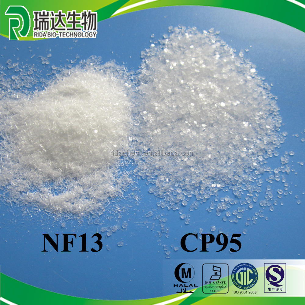 Kosher halal food additive sodium saccharin cyclamate