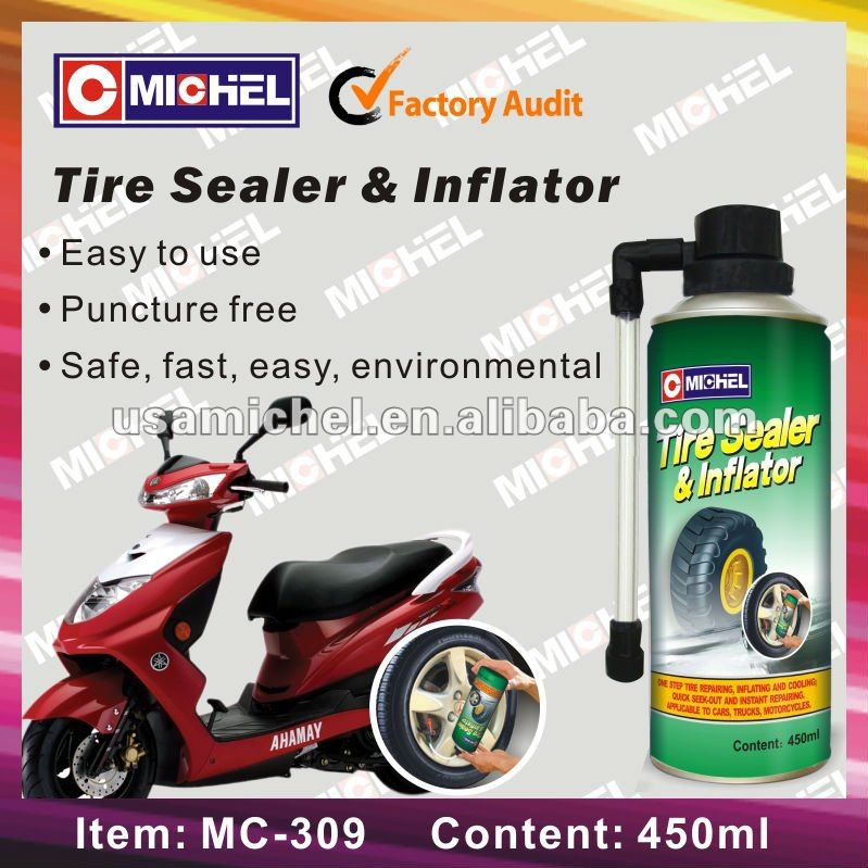 Magic 450ml Tyre Repair Sealer & Inflator, Quick repair Tyre Sealer & Inflator