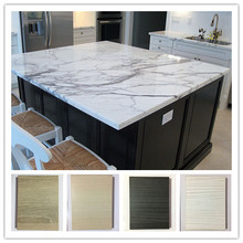 fashion kitchen cabinet ideas white pattern marble countertop