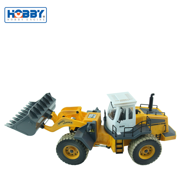Multi-function 1:14 RC Wheeled Loader Construction Truck Digger RC Truck Toy with Sounds