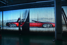 Huasun Flexible led display/soft LED screens/flexible curtain Transparent