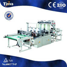 Automatic DFJ-D High production efficiecy Six Lines plastic shopping bag machinery