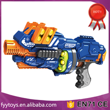 Hot kids soft bullet Shooing gun enviornment material gun toy with 12 foam ball bullets Included