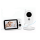 "Hottest Baby Monitor V303 Night Vision 3.5"" Video Cam Baby Monitor 2-Way-Audio Talking Lullabies"