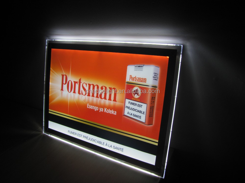 Shanghai CF1A Acrylic illuminated advertising signboard