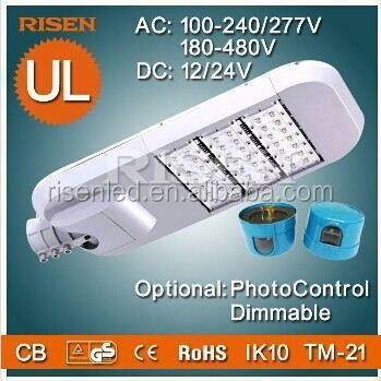 UL CE Approved High Efficiency Meanwell Driver LED Street Light Retrofit,100W waterproof shower light lighting fixture