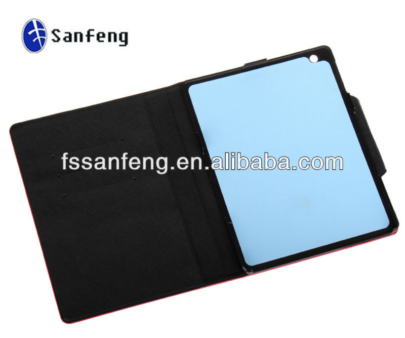 Leather Cover Case For Ipad tablet/Leather Flip Cover Case For Ipad