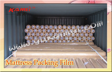 compressed mattress packing plastic film pvc film in roll