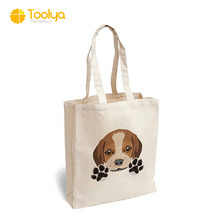 customize wholesale cheapest recyclable eco friendly printed logo cotton canvas tote shopping bag with gusset