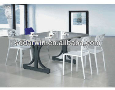 outdoor dining set marble stone table top DW-DT049