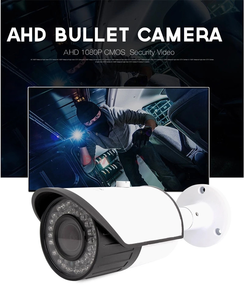 Outdoor Full Color Night Vision Sony Sensor 1080P IP66 ONVIF CCTV IR Bullet Wireless IP Full Hd Camera