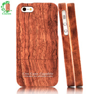 Genuine Burma Padauk Wood For iPhone 5 Case Wooden for iPhone 5s