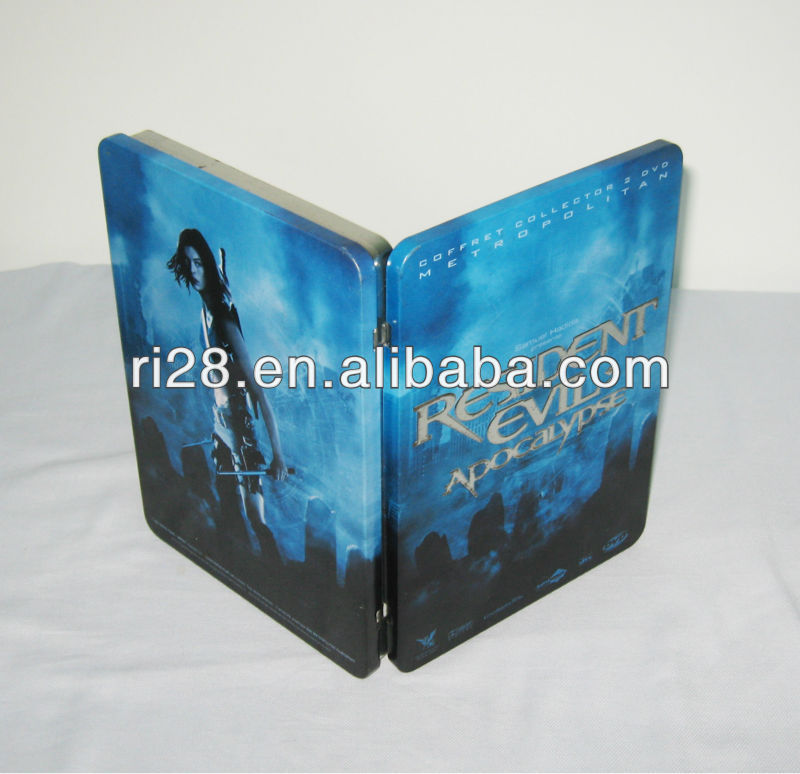 Metal DVD case