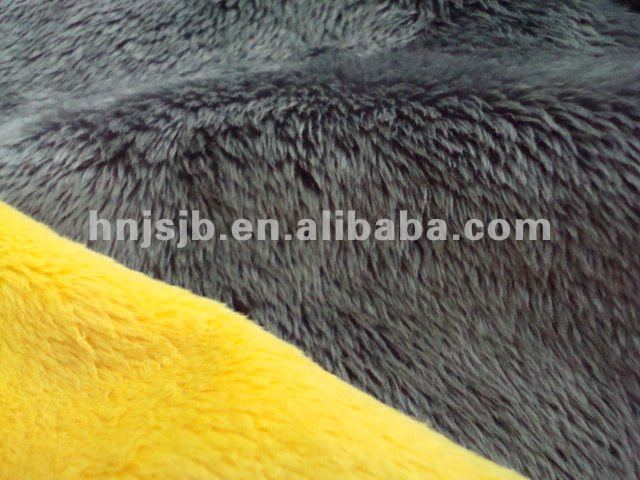 polyester plush fabric/fleece fabric /soft toys raw materials