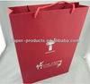 Red Matt Printed Chinese Knot Gift Carrier Bag Wine Bag For Retail