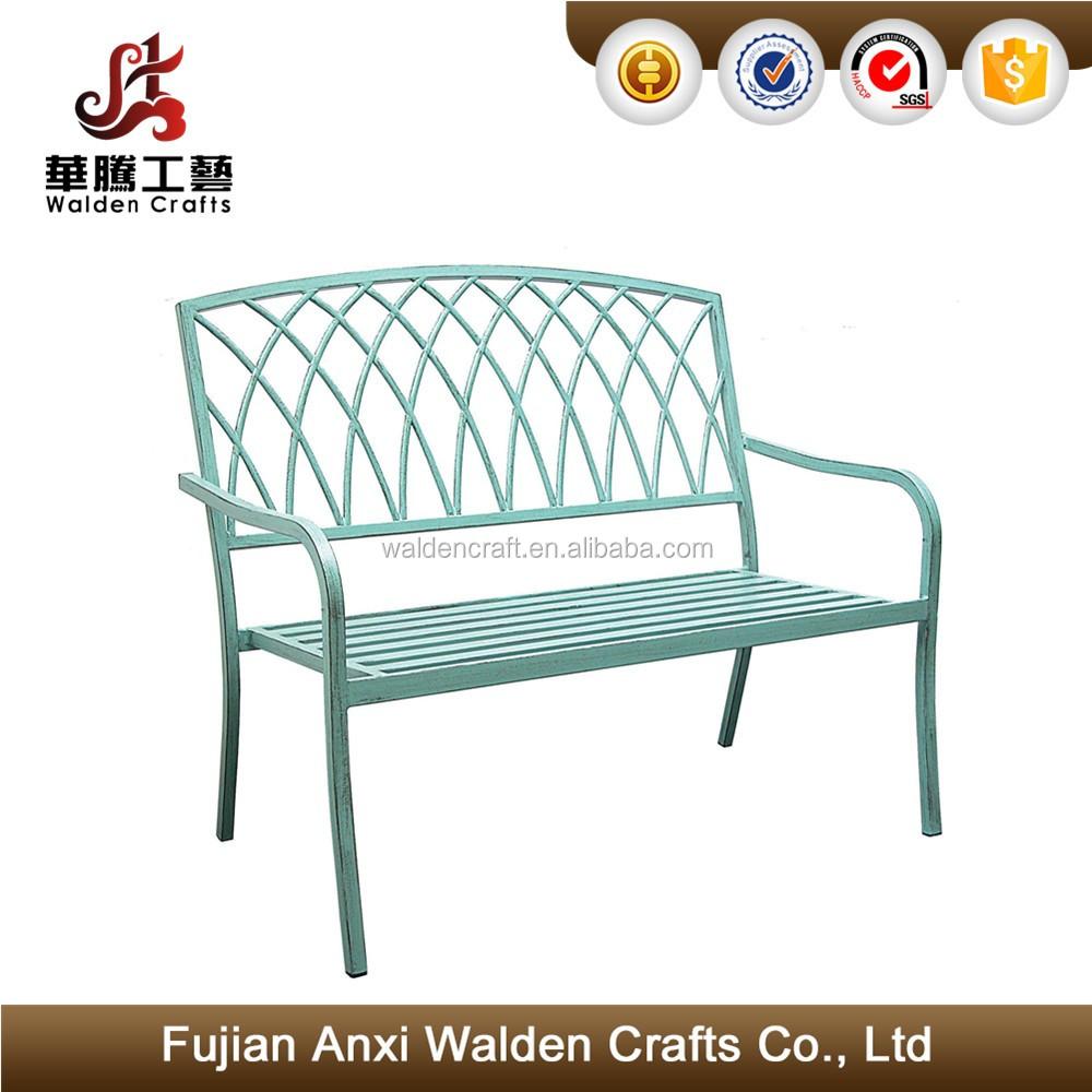 Blue Metal Garden Bench Inspiration