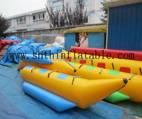 inflatable water banana boat,giant inflatable water toys