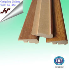 Changzhou hot sale mdf skirting board laminate stair nose
