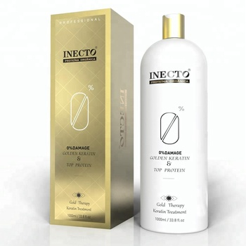 inecto herbal bio keratin straightening cream formaldehyde free brazilian keratin treatment1000ml