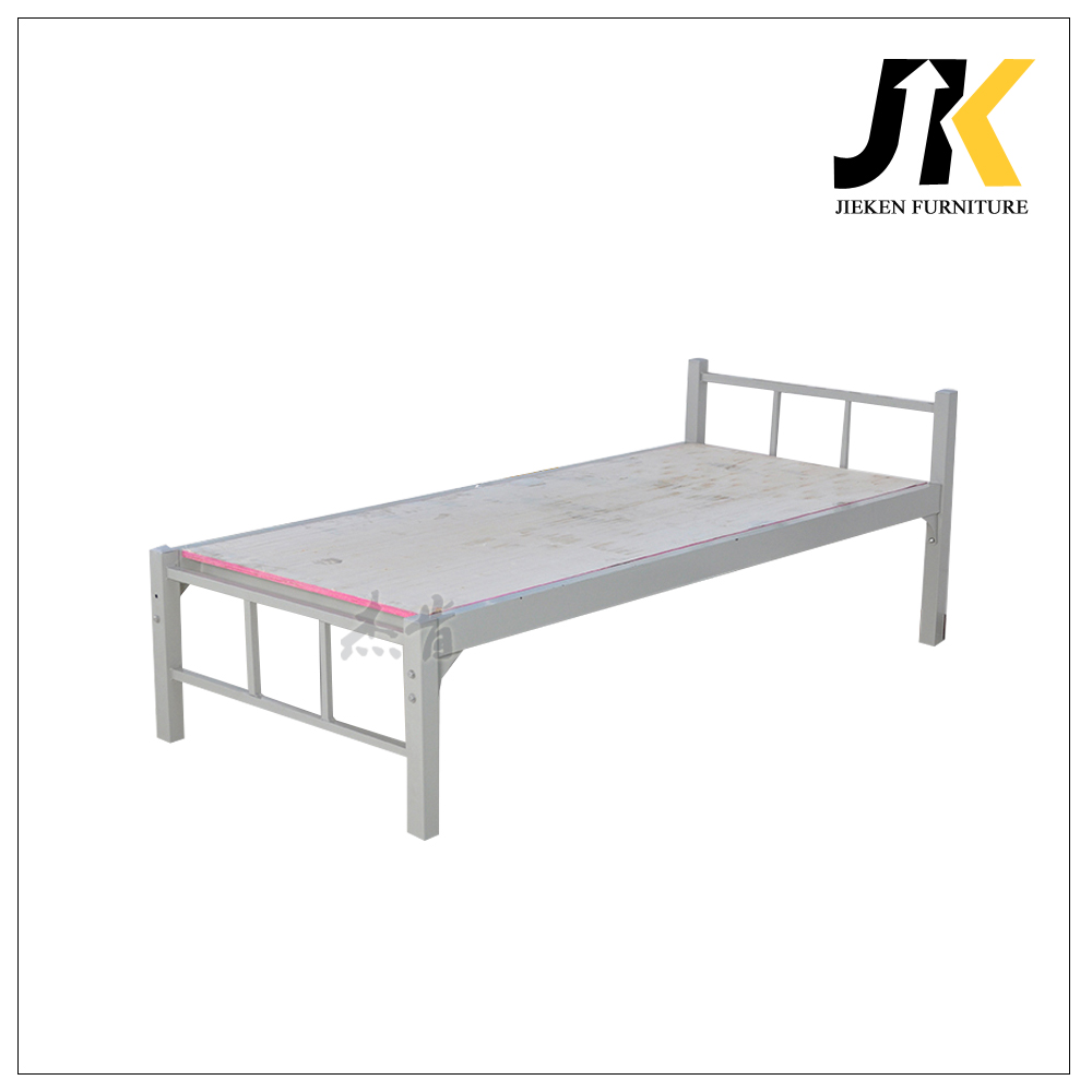 Simple single steel bed designs