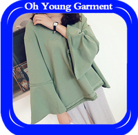 Custom made popular smart trendy young ladies fashion coat women special Hoodies & Sweatshirts
