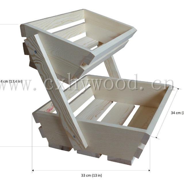 Cheap Multi Function Kitchen Corner 2 Tier Storage Rack Basket Vegetable  Shelf