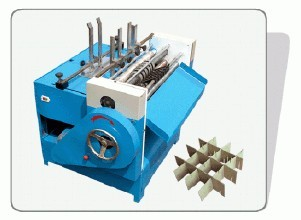 Carton seperating partition machine,corrugated paperboard partition slotting machine