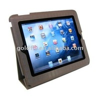 Leather case for i-Pad 2 (GF-141) (leather case for pad2/leather case for i pad2/leather case for nook color)