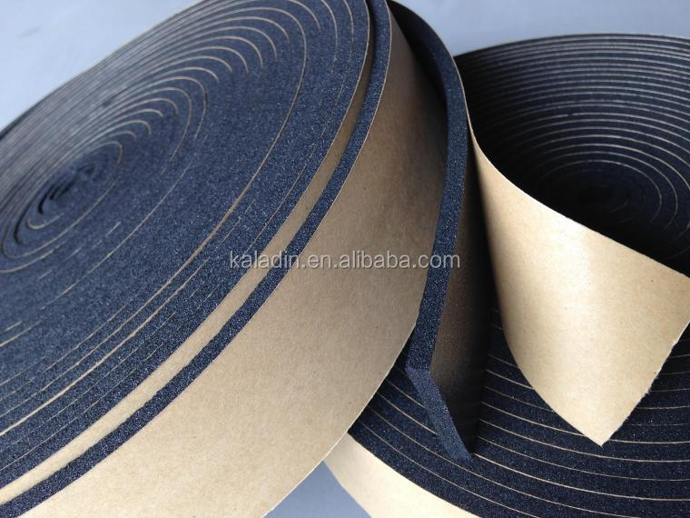 soft EPDM foam tape with adhesive