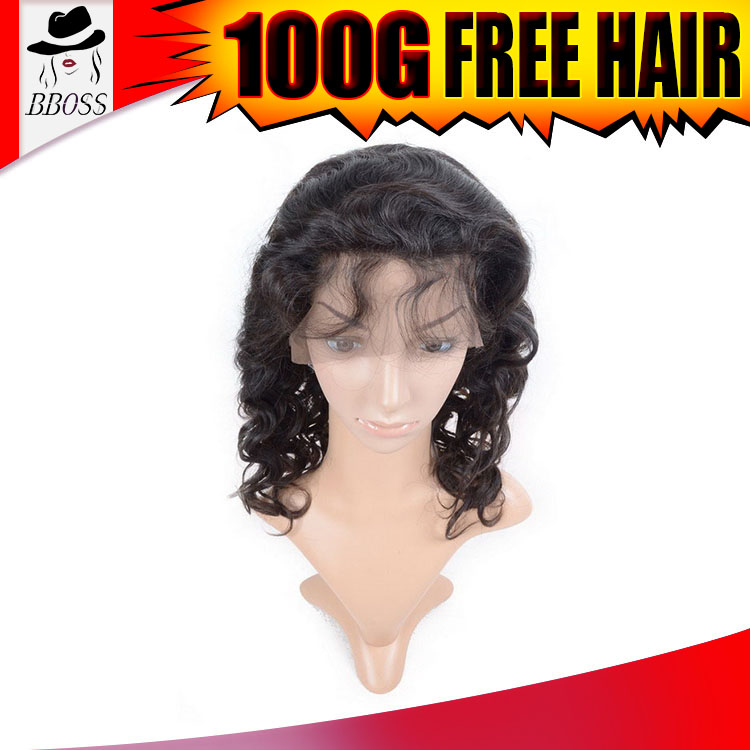 Highly Feedback pre plucked lace wig, breathable human hair wig, super fine swiss lace wig