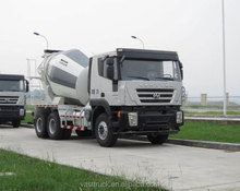 RED ROCK volume is 4.8 cbm at reasonable price 6x4 concrete mixer truck