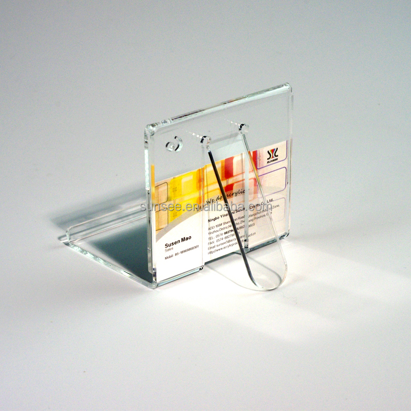 customized acrylic display with transparent design/display stand for phone