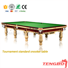 12ft elegent snooker table for play game