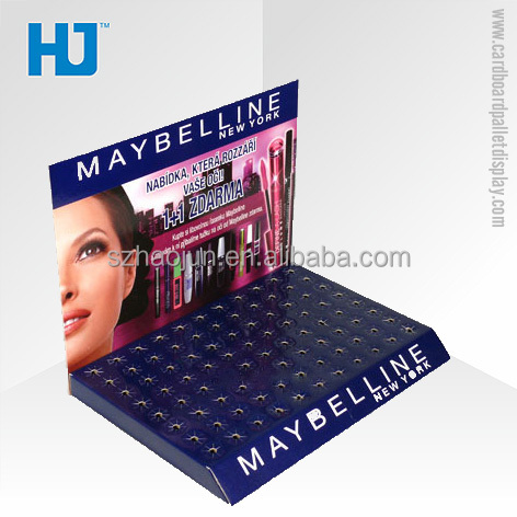 Hot Sale Coustom Counter Top Display Boxes for Meybelline Deboran Revlon Lipstick