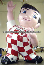 happy inflatable character balloon,inflatable boy F1004