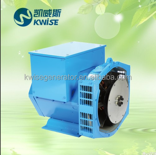 2 / 3 Pitch Brushless Generator Head Electric Alternator 100kw / 125kva For Engine