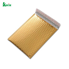 Security Custom Self Sealing Oem Foil Metallic Gold Bubble Air Cushioned Envelope Packaging
