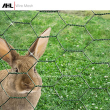 "1/2"" Small Hole Poultry Netting Pvc Coated Rabbit Cage Wire Hexagonal Chicken Coop Galvanized Wire Mesh"
