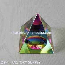 2018 New Promotion Gift crystal Pyramid