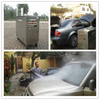 CE no boiler 48V 30 bar diesel steam car wash for sale/steam mini portable washer machine