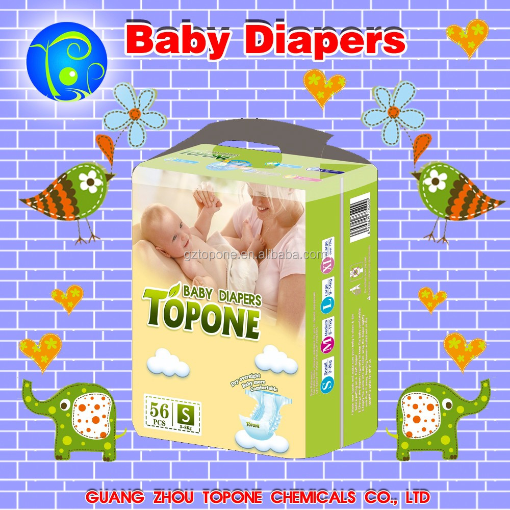 Made in China disposable sleepy baby diapers/nappies