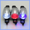360 angel Adjustable 3 LED RED/BLUE/WHITE Color Bike Light LED Bicycle Front Light