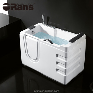 Orans bathtub for old people and disabled people walk in tub