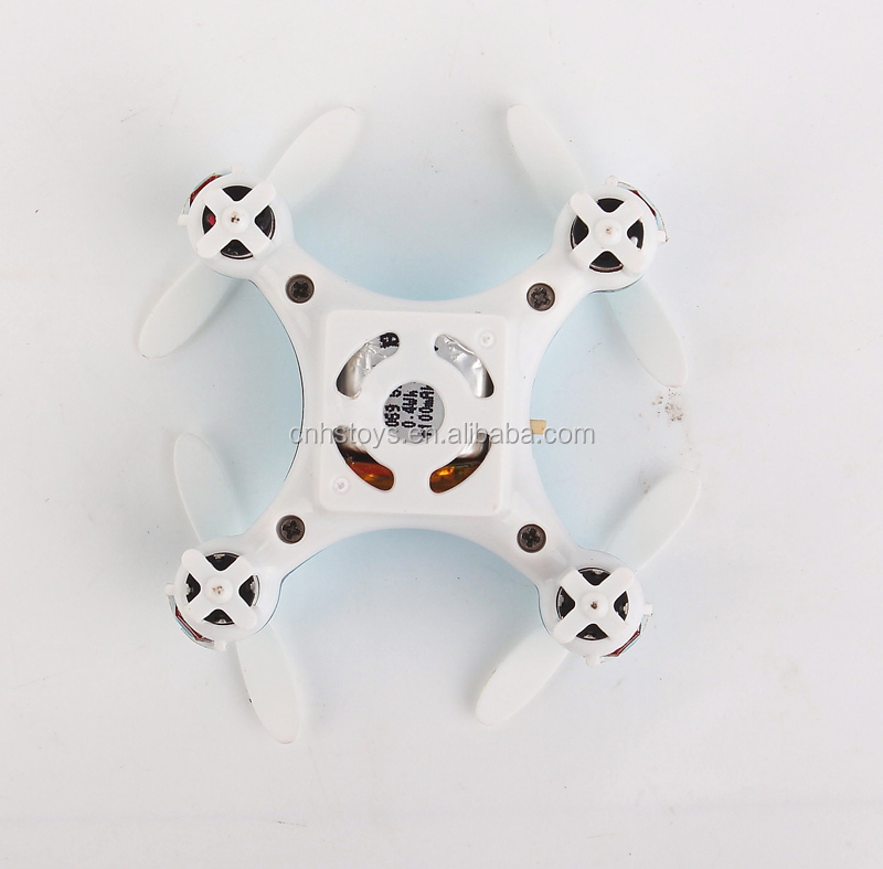 Mini flying RC 2.4G 6 axis waterproof quadcopter mariner