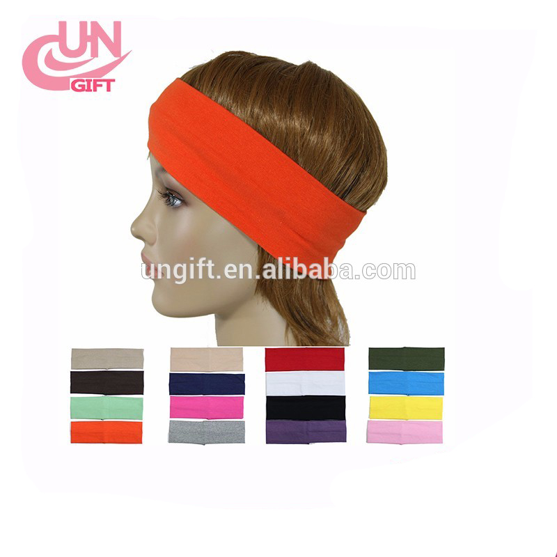 Twist Elasticity Turban Headbands for Women Sport Head band Yoga Headband Headwear Hairbands Bows Girls Hair Accessories