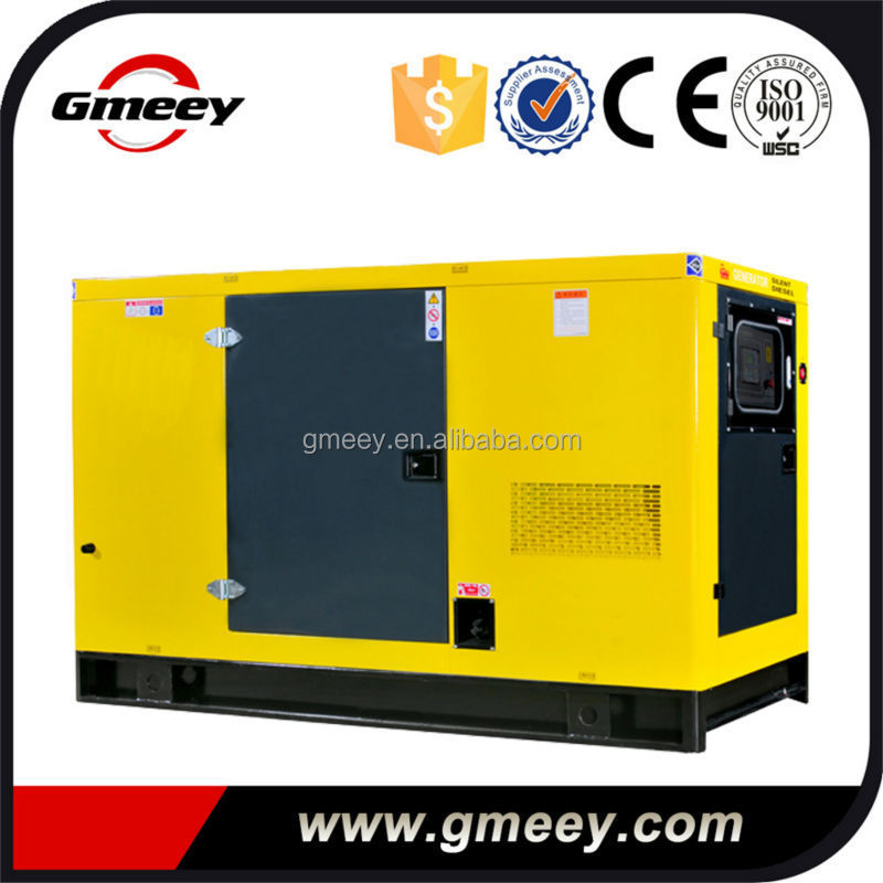 Gmeey 30kw silent type diesel generator set powered by USA engine 4BT3.9G1