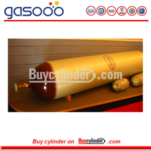 CNG Type II Steel Composite Gas Vehicle Bus Cylinder