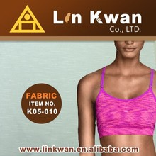 Linkwan Taiwan K05-010 beauty breast underwear quality jersey knit fabric