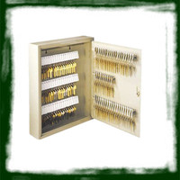 wall-mounted metal safe key cabinet