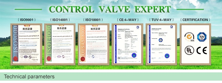 Custom ISO9001 for gas boiler hydraulic parts hydraulic flow control valve